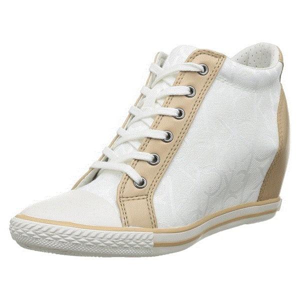 f67b15d9997 Страхотни и удобни бели дамски кецове с платформа Calvin Klein Jean...